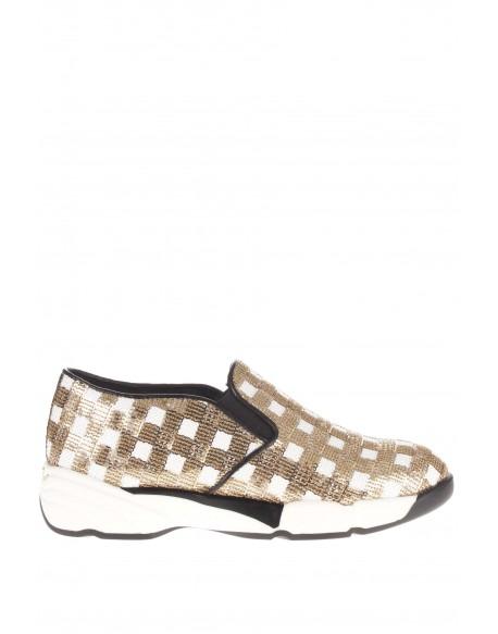Pinko  Sequins sneaker tessuto