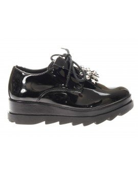 Cult junior  ALICE LOW 634 VEGAN PATENT BLACK