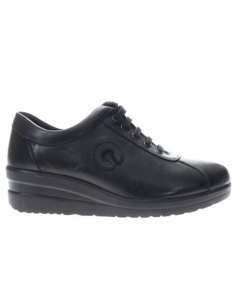 Cinzia Soft Allacciato Fondo Zeppa da donna - De Silvestri Shoes 7f594dc62c7