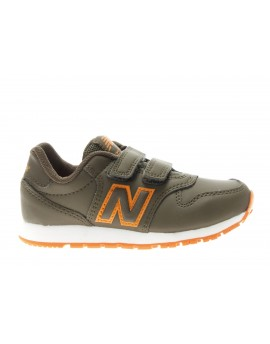 New Balance  Scarpa Kids Lifestyle GREEN/ORANGE