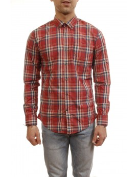 Woolrich  Ceck botton down shirt scooter