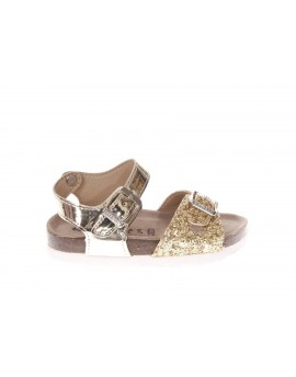 SUPERGA  Sandalo in glitter