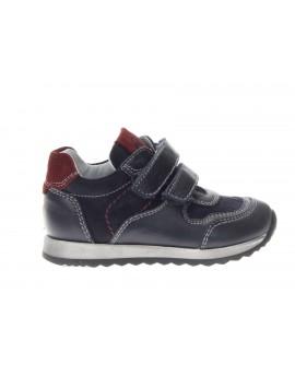 Nero Giardini Junior  Sneaker Bassa in Pelle con Strappo