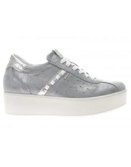 Igi&Co  Sneaker in pelle con platform