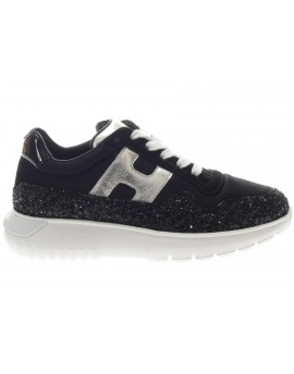 Hogan Junior  Sneaker in tessuto e glitter  H 371