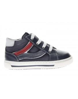 Nero Giardini  Sneaker in pelle e tessuto