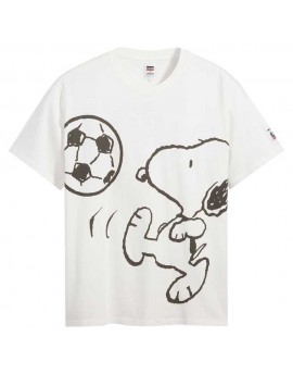 Levis  T shirt Snoopy Oversize Soccer
