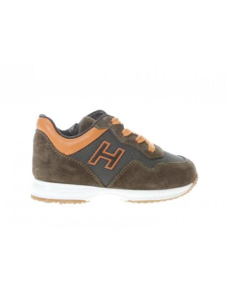 Hogan Interactive H Flock Zip da bambino - De Silvestri Shoes