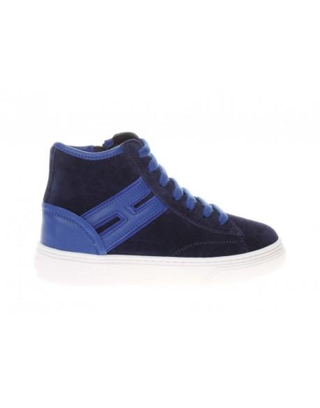 Hogan J340 Allaccaito Higth Top H da bambino - De Silvestri Shoes