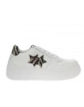 2Star  Sneaker plarform zebra